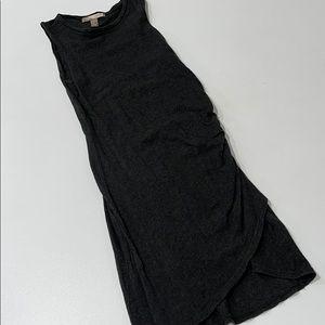 Grey Midi Dress (Size XS)
